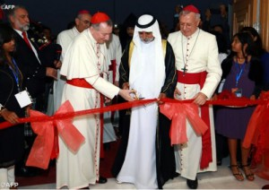 Открытие новой церкви в Абу-Даби