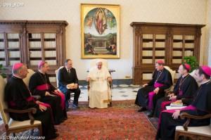 Визит ad limina епископов Латвии и Эстонии