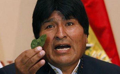 В Боливии Франциска будут встречать с листьями коки