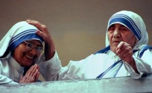 Сестра Нирмала с блаж. Матерью Терезой