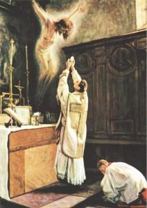 Жертвоприношение Святой Мессы