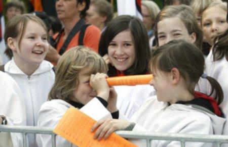 В англиканской церкви причастие теперь смогут раздавать дети