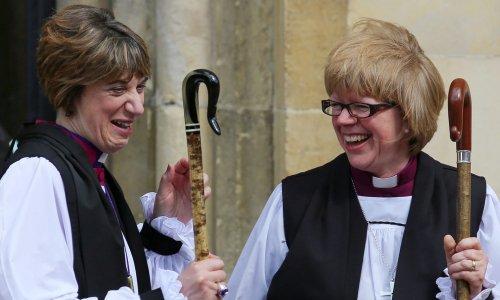 В Церкви Англии рукоположена первая женщина — диоцезный епископ