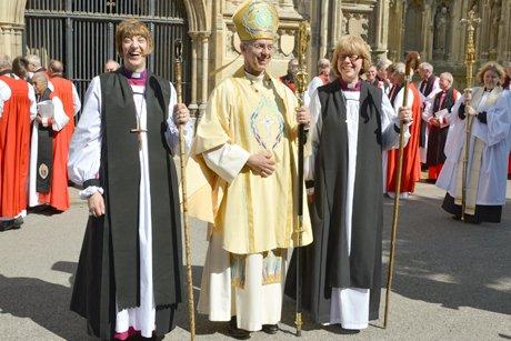 Новые епископы Церкви Англии