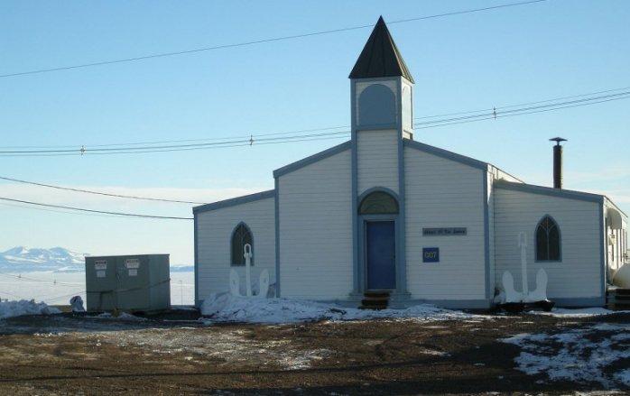 Церковь Снегов в Антарктиде
