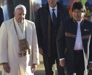 Франциск с чуспой