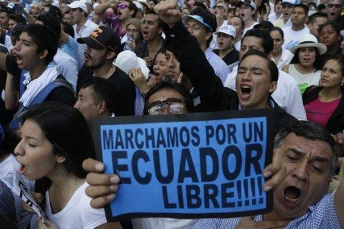 """Результат пошуку зображень за запитом """"протесты эквадор"""""""