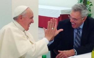 Франциск с Джеймсом Робинсоном