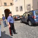 Бенедикт XVI покидает Кастель-Гандольфо (фото L. Sсiurbа)