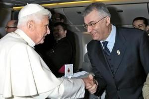 Патрицио Полиска сопровождал  Бенедикта XVI во всех его апостольских визитах