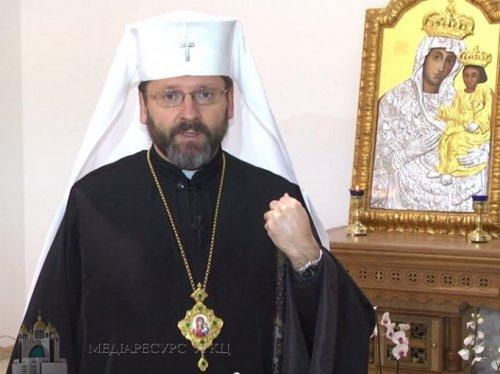 Глава украинских греко-католиков призвал украинцев к миру и национальному единству