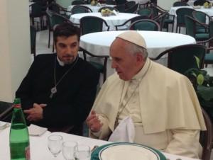 Франциск с Тони Палмером