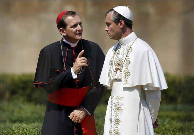 В Риме начались съемки сериала «Молодой Папа»