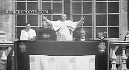 Rome Reports опубликовал первую аудиозапись молитвы Angelus, произносимой Папой Римским