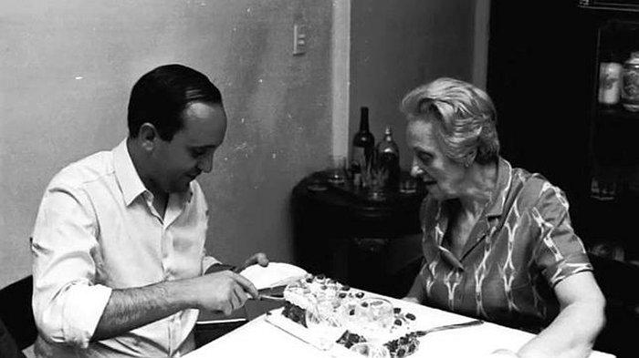 Хорхе Марио Бергольо со своей матерью Региной
