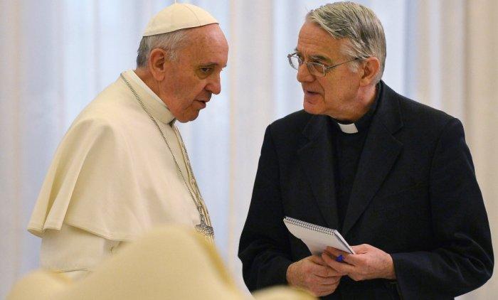 О. Федерико Ломбарди и Франциск  (Gеtty Imаges)