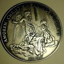 Медаль 3 года понтификата Бергольо