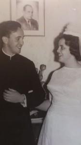 Хорхе Марио Бергольо со своей племянницей Марией Инес Нарваха