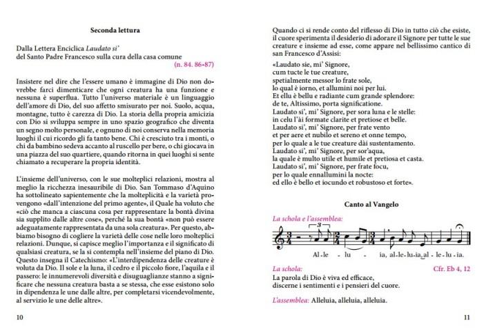 На Литургии слова в Ватикане вместо Апостола прозвучал отрывок из энциклики Франциска