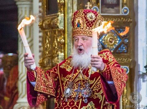 Патриарх Кирилл: «Если бы санкций не было, их нужно было бы выдумать»