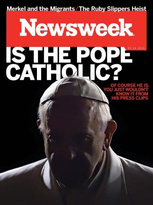 Франциск: «Одна пожилая католичка считает меня антипапой»