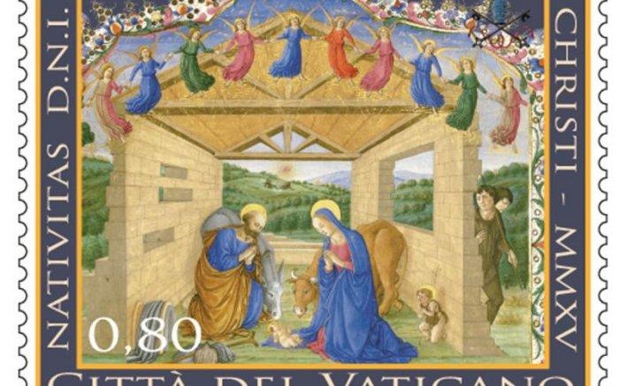 В Ватикане представили рождественские марки этого года