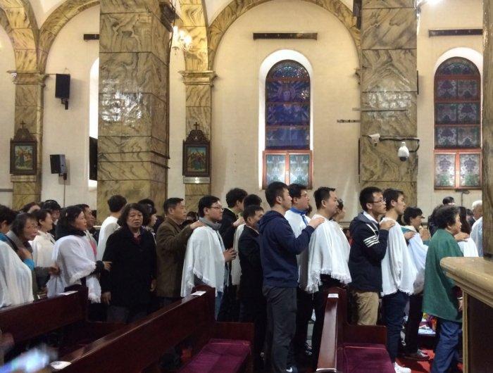 20 тысяч человек были крещены в Китае в Пасхальную ночь