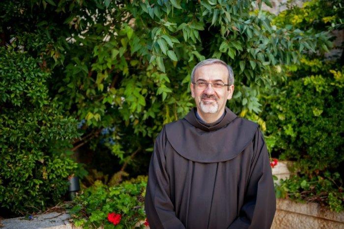 Апостольский администратор Латинского патриархата Иерусалима архиепископ-десигнат Пьербаттиста Пьяццабалла