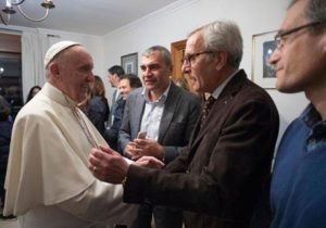 Франциск встретился с женатыми священниками