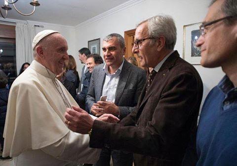 Последнюю «Пятницу Милосердия» юбилейного года Франциск провел с женатыми священниками