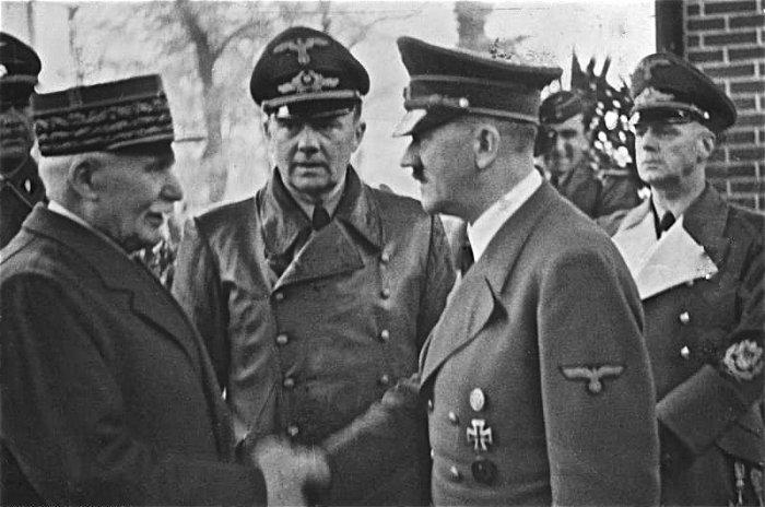 Петен и Гитлер