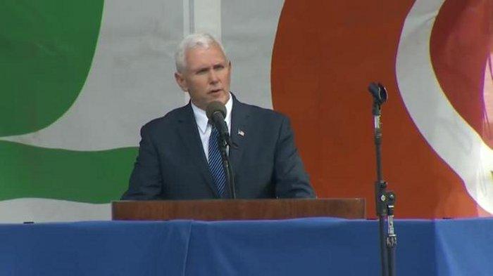Вице-президент США Майк Пенс выступил на «Марше за жизнь» в Вашингтоне