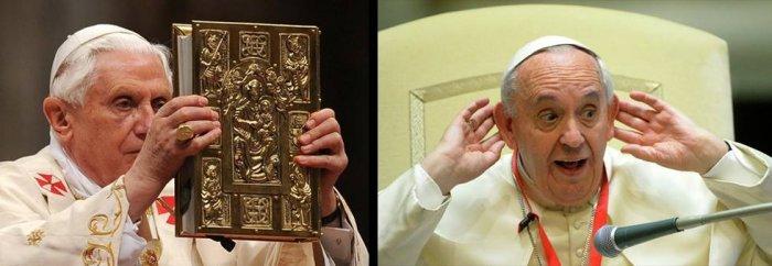 Бенедикт XVI и Франциск