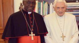 Бенедикт о кардинале Сара: Литургия в хороших руках