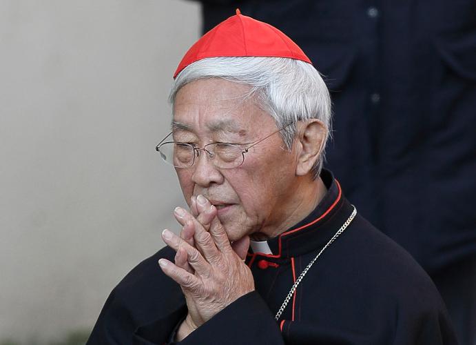 Кардинал Чэнь: «Государственный секретарь Ватикана — маловерный человек с ошибочными мнениями»
