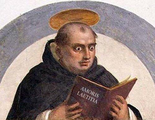 «Amoris laetitia» следует «классической доктрине Фомы Аквинского», считает Франциск