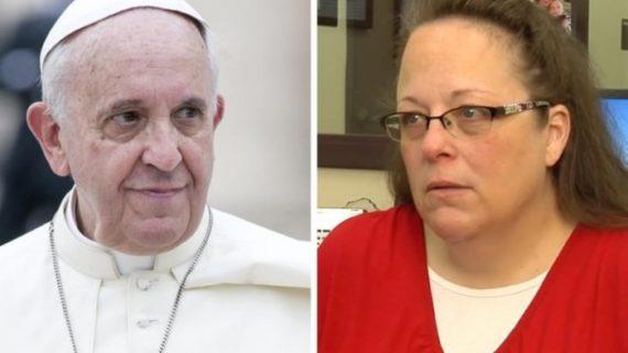 Дело Ким Дэвис: разоблачена очередная ложь Франциска