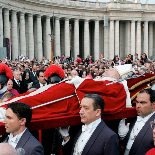 Я носил на плечах четырех Римских Пап