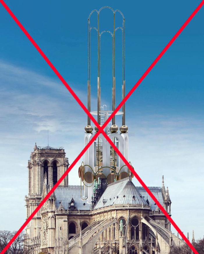 Победа архитектора: Нотр-Дам будет восстановлен в историческом виде